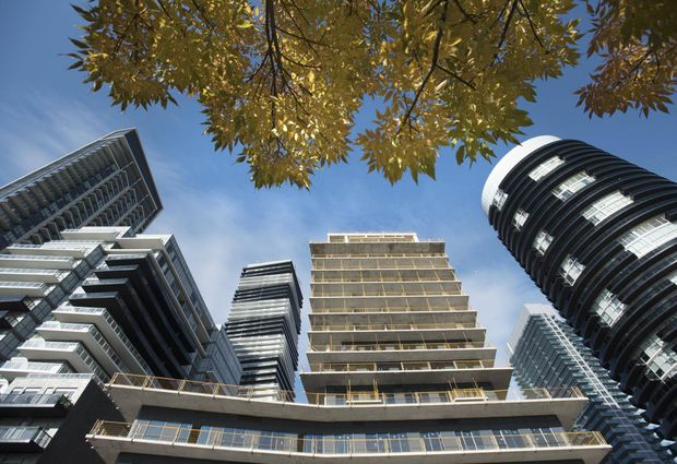 Toronto condo rents up 9.1 per cent.