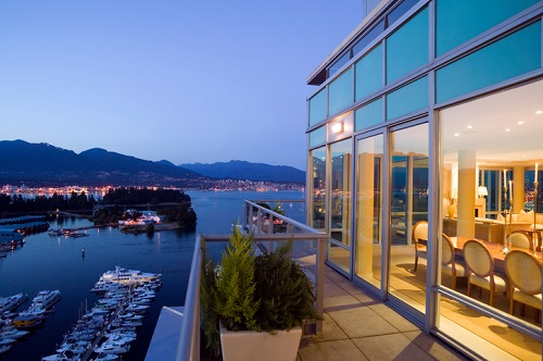 Toronto lake-view penthouse leads record luxury condo sales.