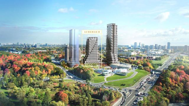 Tridel introducing tower 2 at Auberge on the Park.