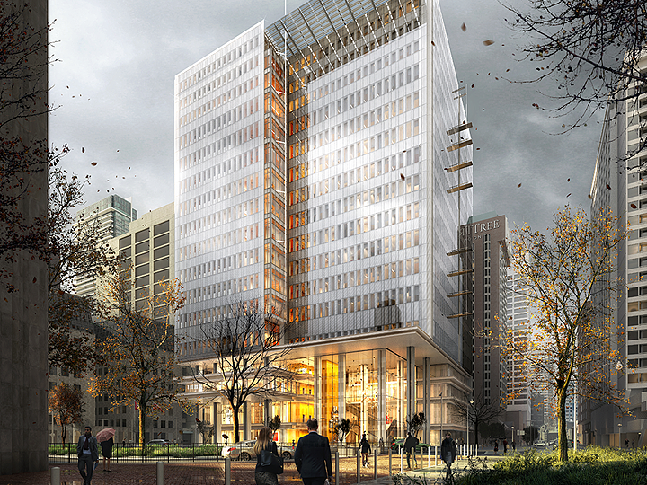 Toronto is getting a stunning new courthouse near city hall.