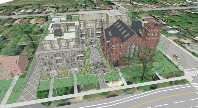 Site plan approval pending for 260 High Park church conversion.
