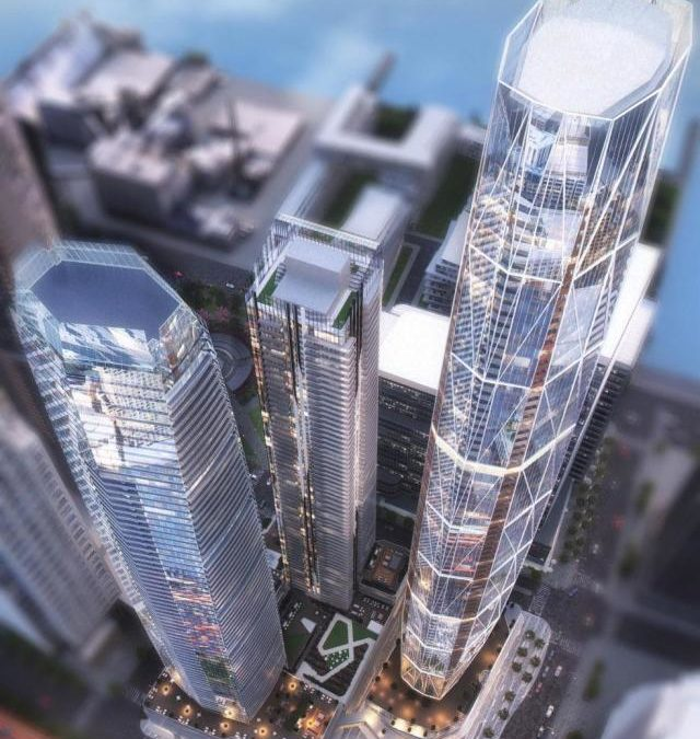 Site plan approval sought for phases 2 and 3 of One Yonge.