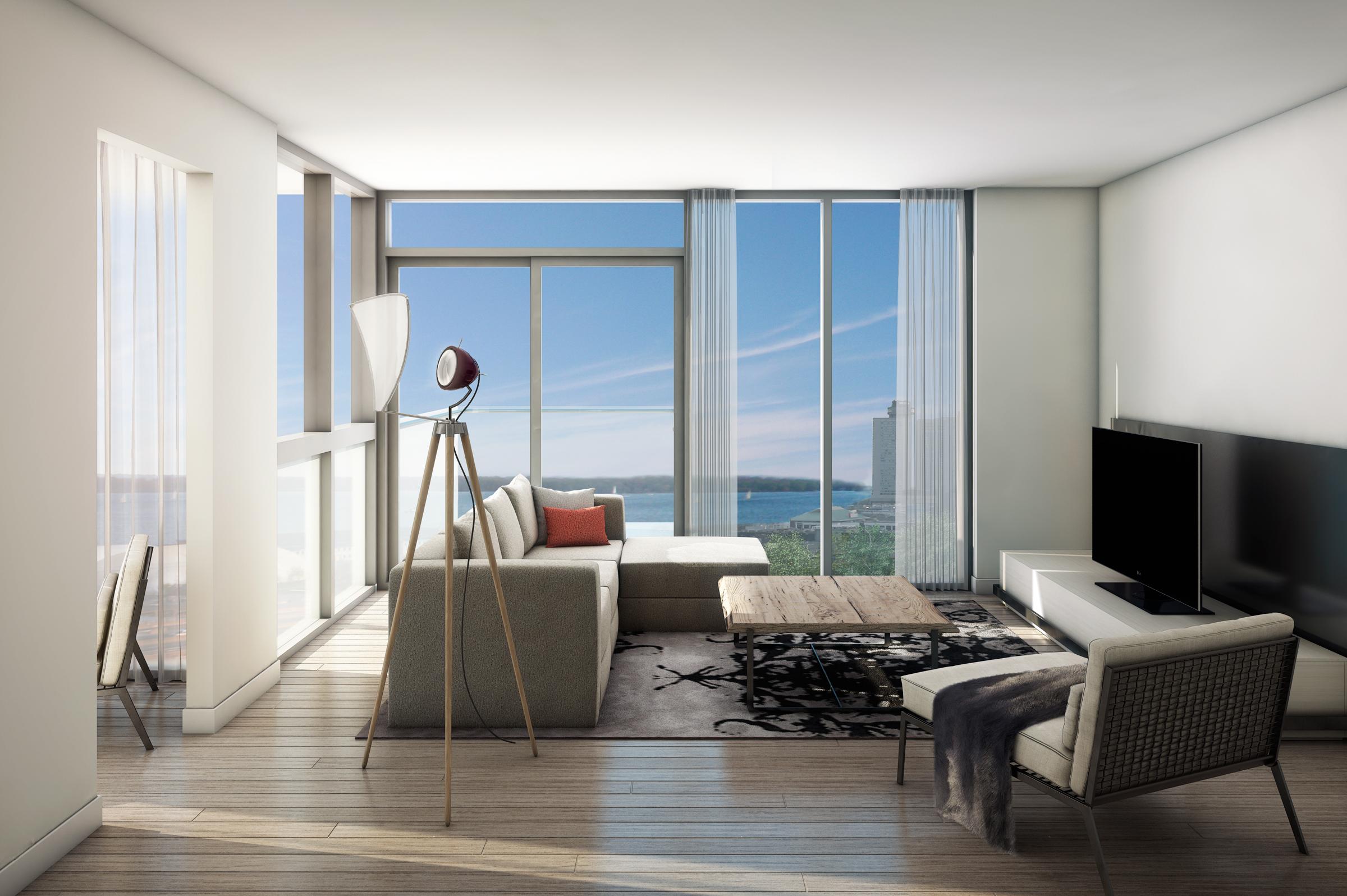 Monde_LivingRoom_East Bayfront Condo