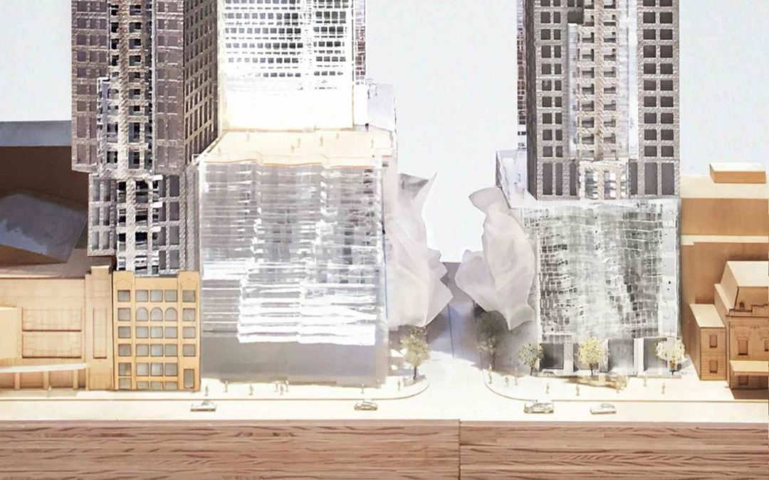 "Mirvish+Gehry Development Resubmitted as Two ""Supertall"" Towers"